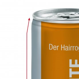 Transparante volledige body label (Glanzend)