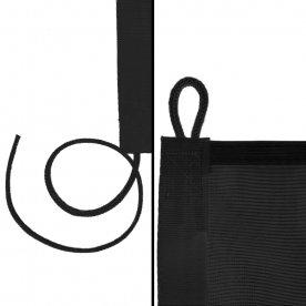 Black loop & cord