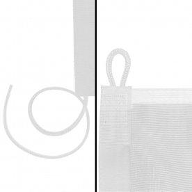 White loop & cord