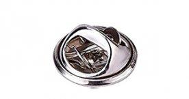 Silver butterfly clutch