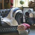 Field & Co. Joan sherpa plaid blanket