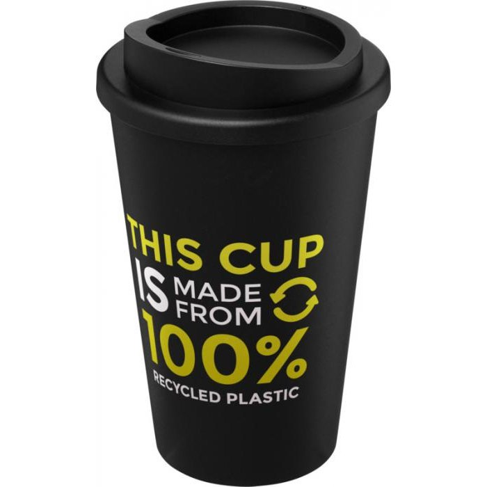 Americano Medio 350 ml gerecycleerde geïsoleerde koffiebeker