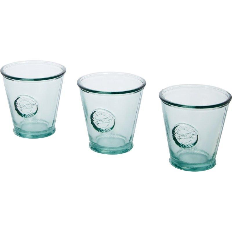 Authentic Copa driedelige set van 250 ml gerecycleerd glas