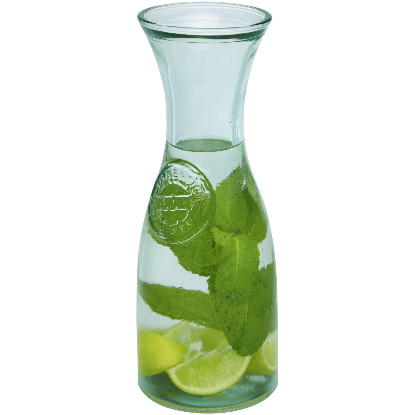 Authentic Fresco recycled glass carafe