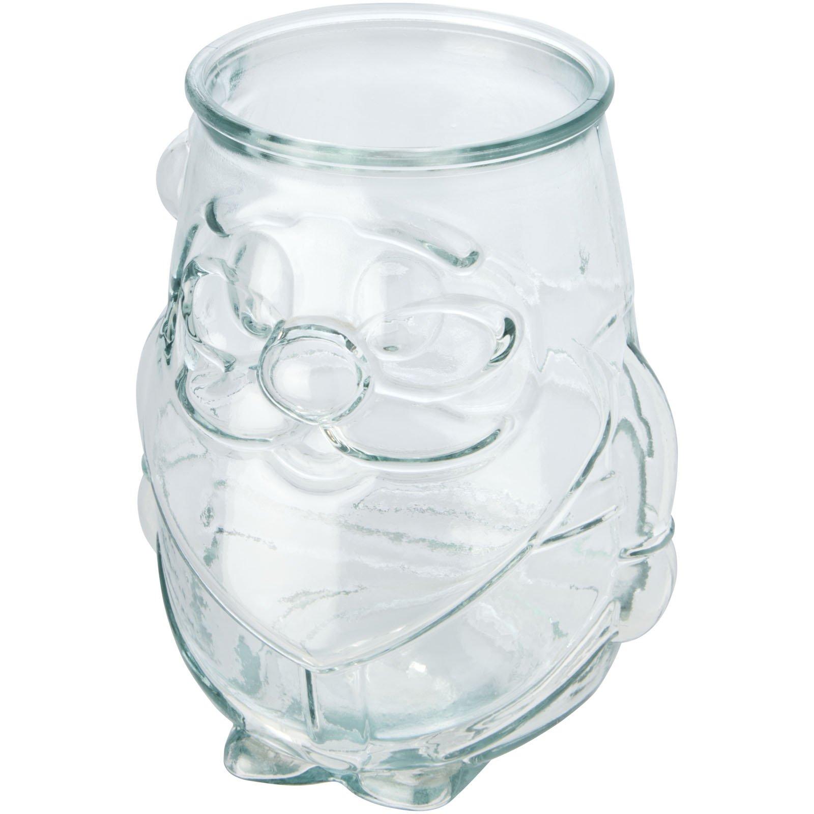 Authentic Nouel theelichthouder van gerecycleerd glas