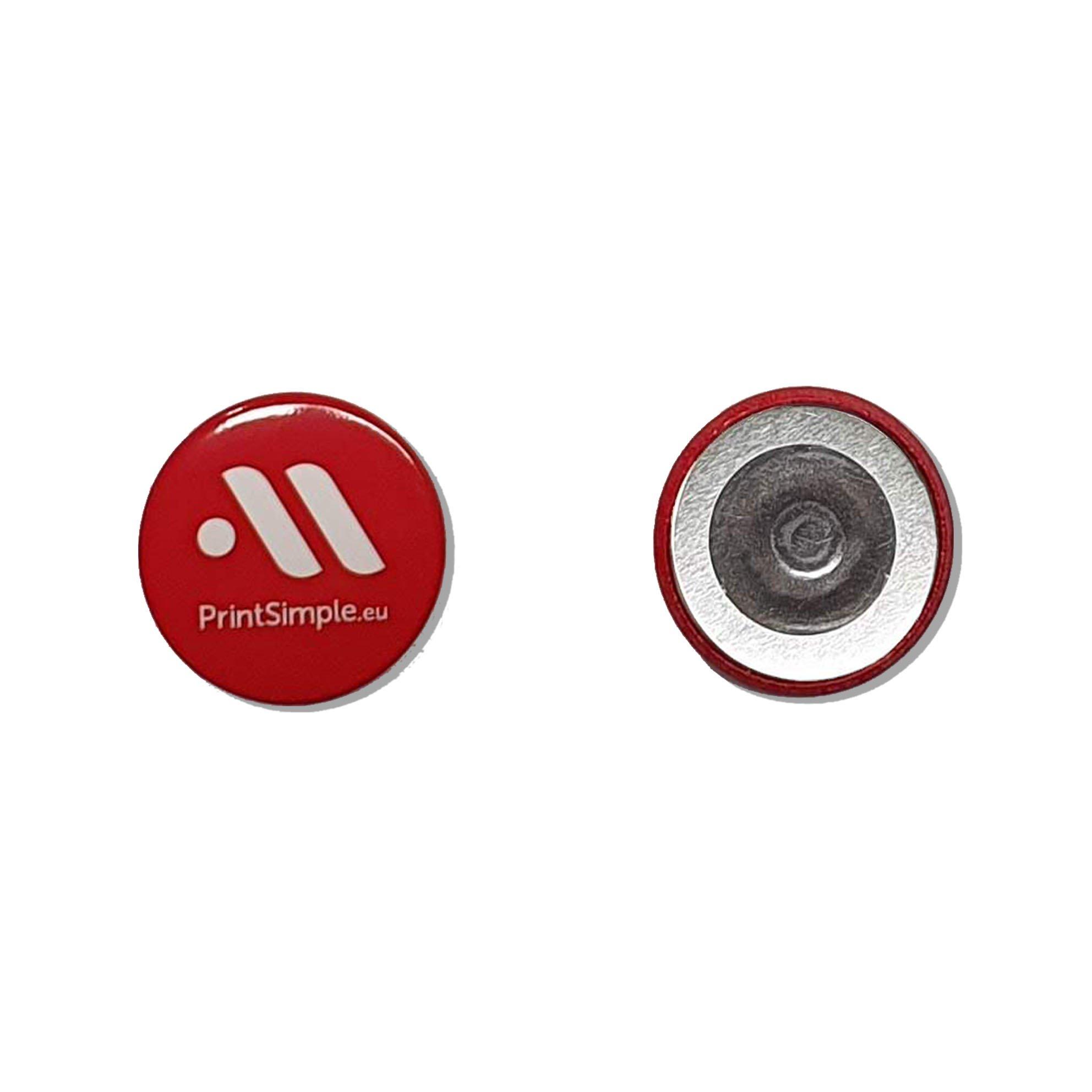 Badge magnet