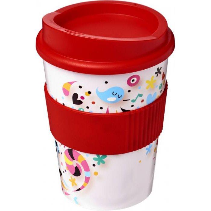 Brite-Americano Medio 300 ml coffee cup with grip