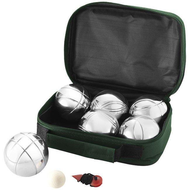 Bullet Henri 6-ballen petanque set