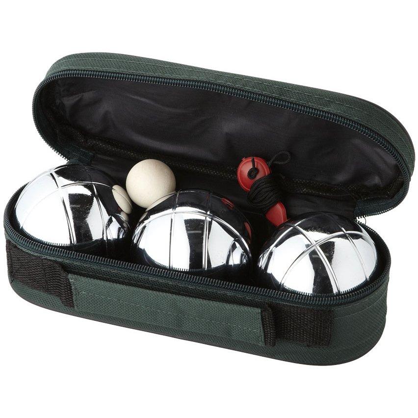 Bullet Jose 3-ballen petanque set