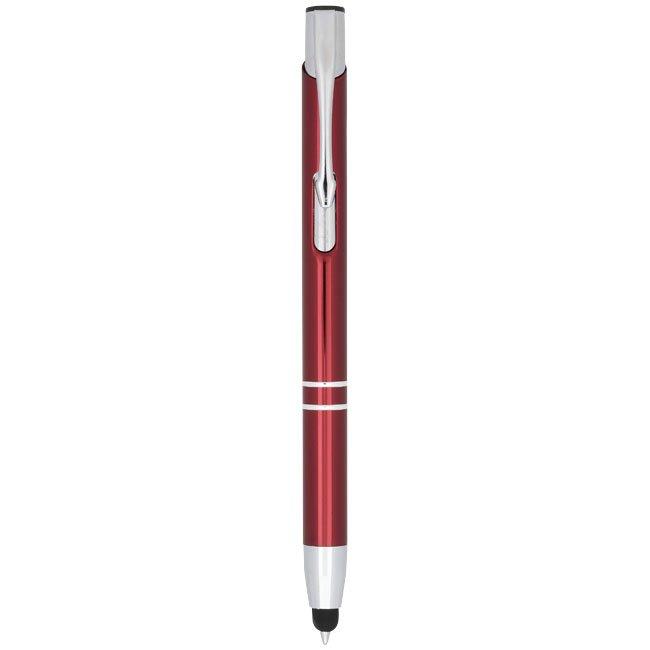 Bullet Moneta stylus ballpoint pen, blue ink