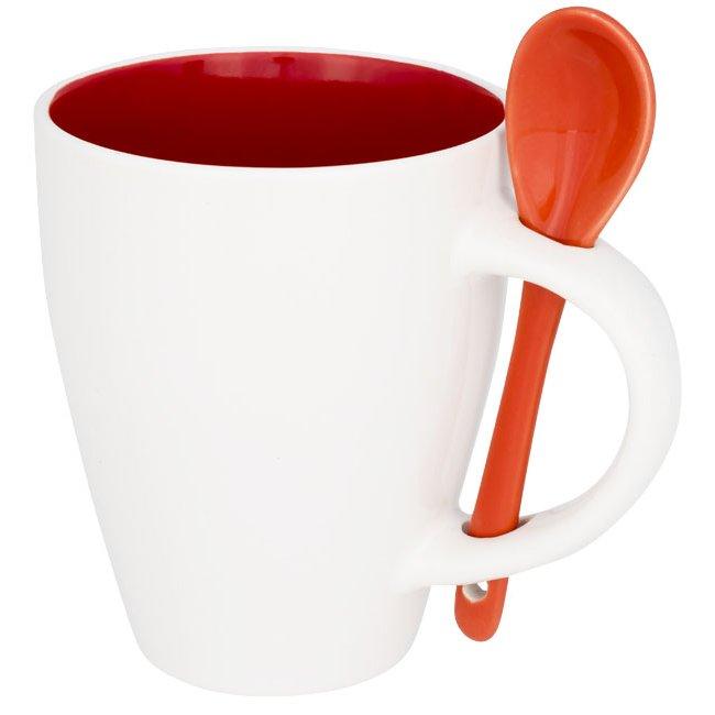 Bullet Nadu mug with spoon