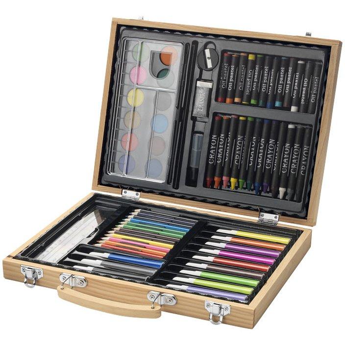 Bullet Rainbow 67-piece coloring set