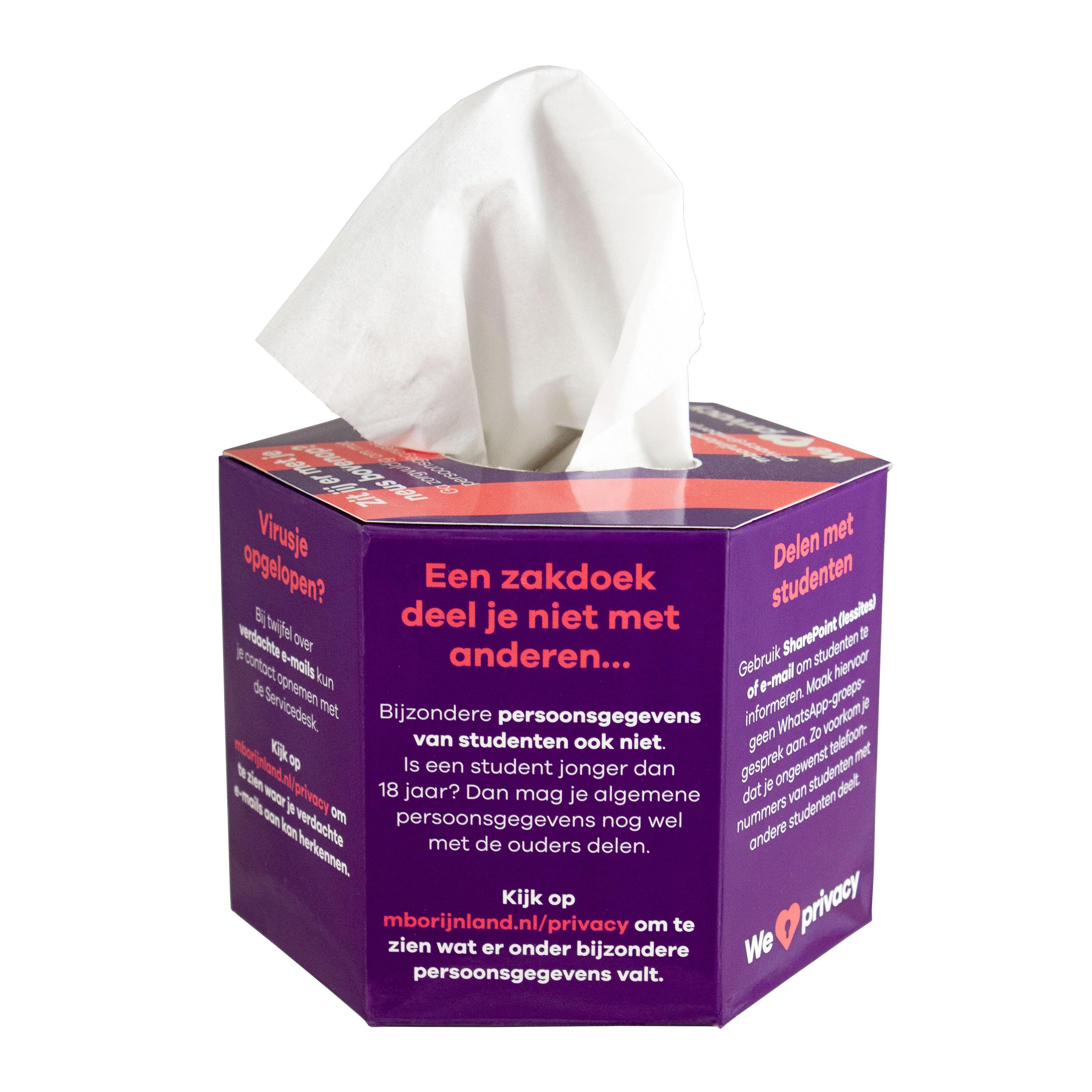Care & More hexagon tissue box