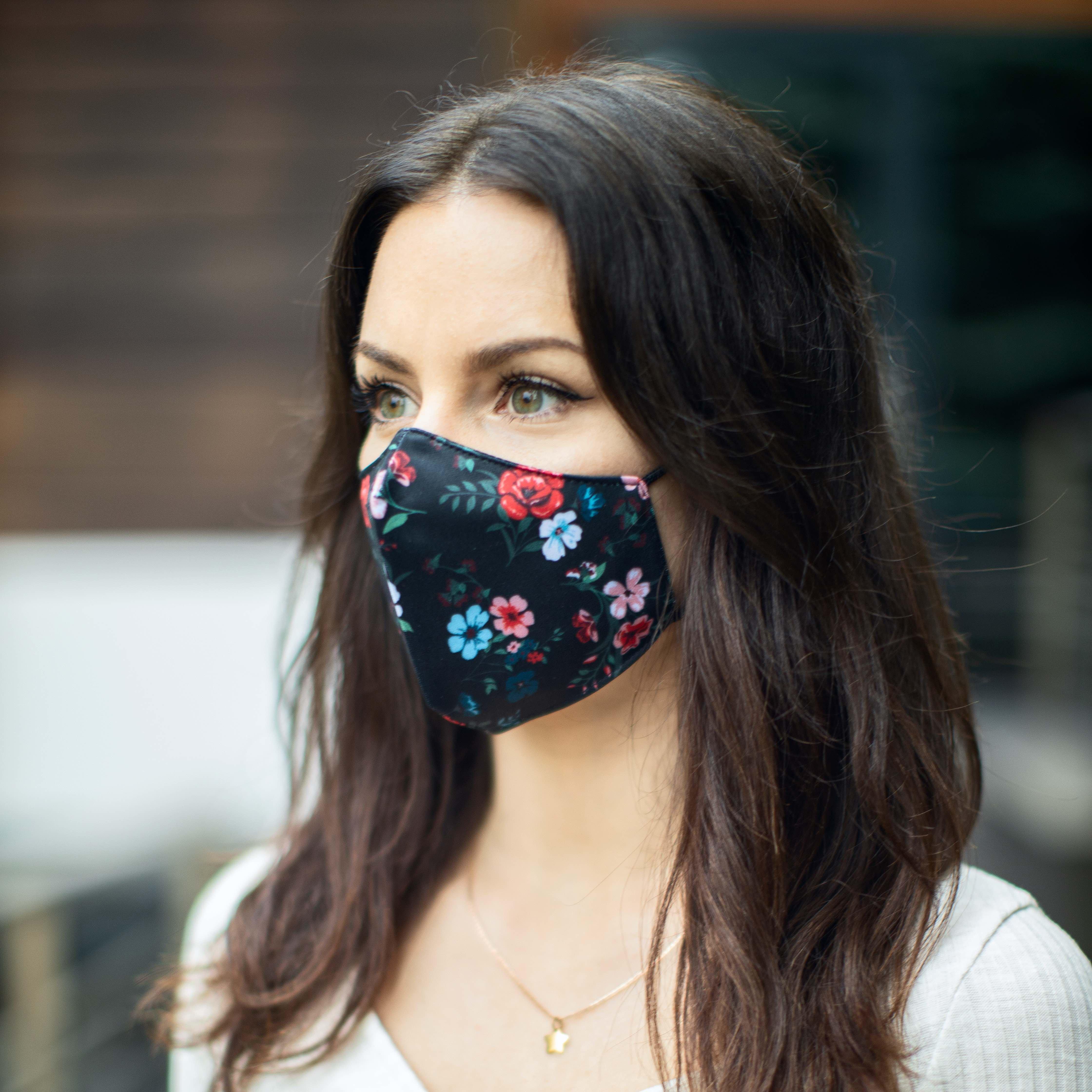 Care & More L2 LUX herbruikbaar gepersonaliseerd mondmasker