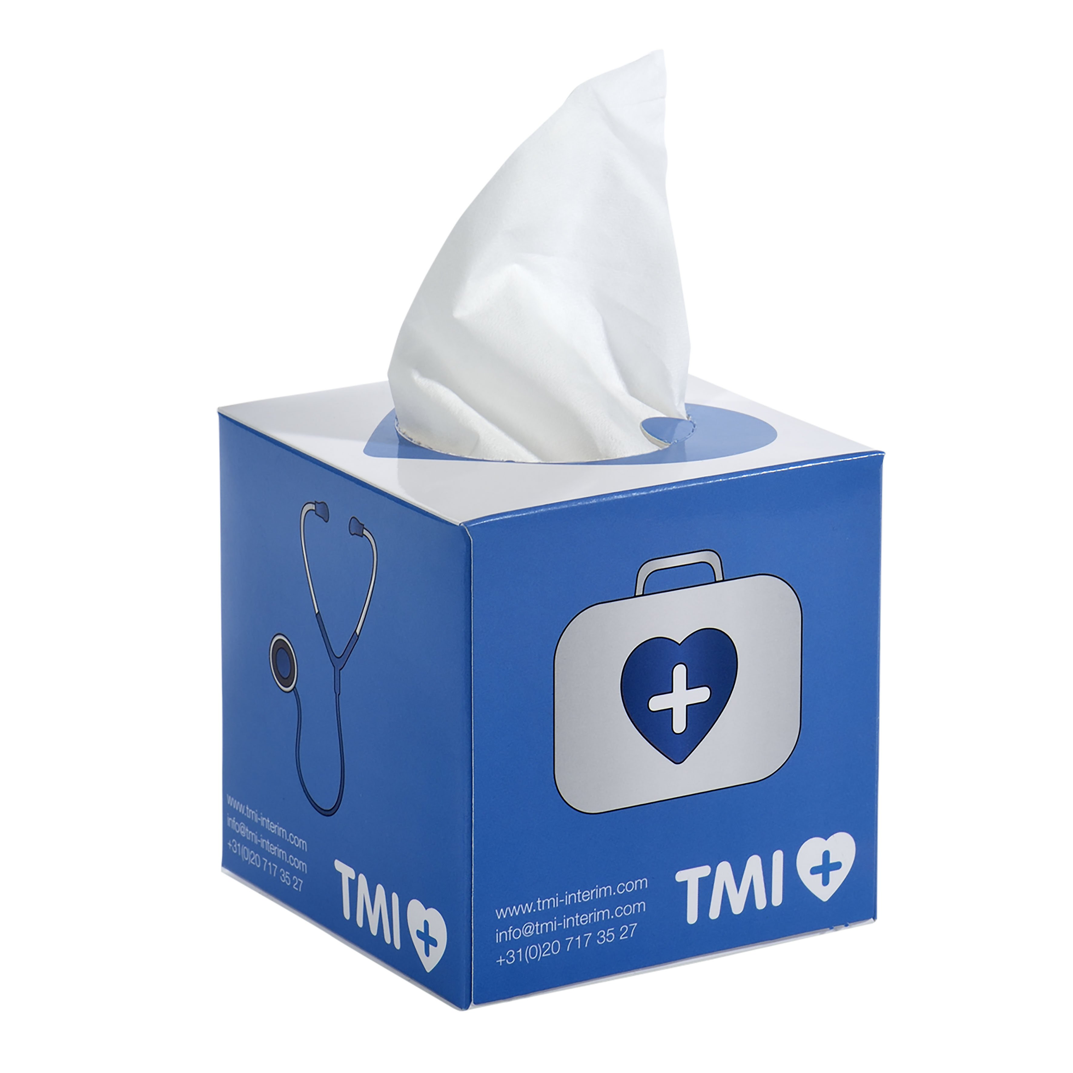 Care & More tissue box
