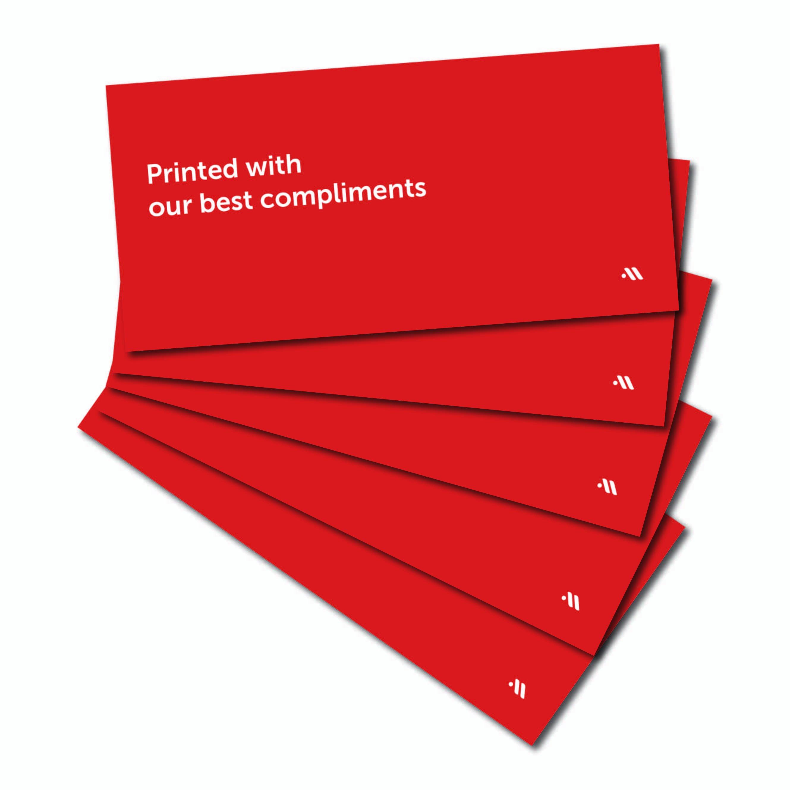 Complimentkaarten