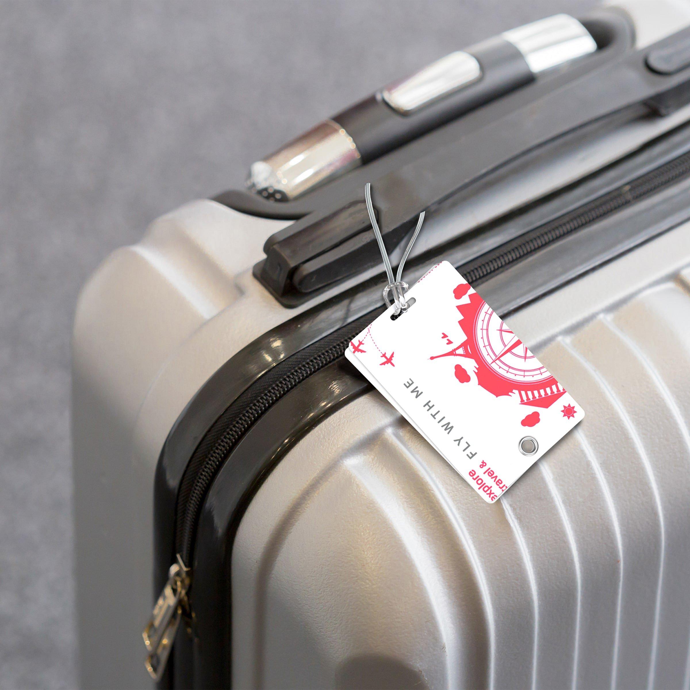 DEO luggage tag
