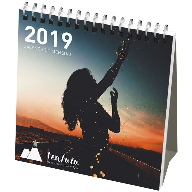 Desk-mate® classic monthly desktop calendar soft cover
