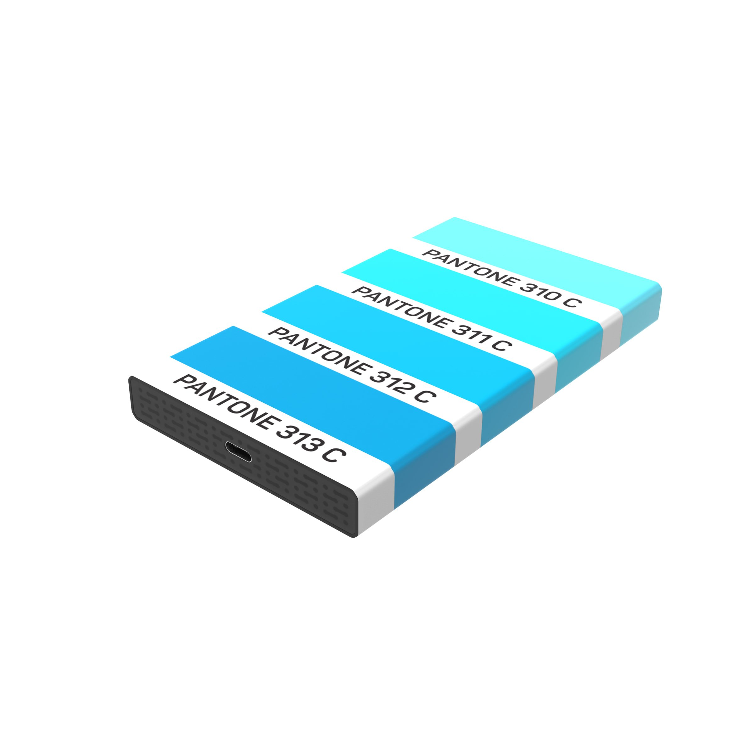 DN White Lake Pro External SSD 120 GB