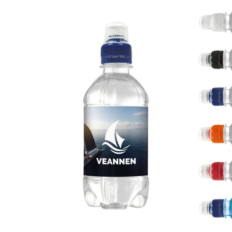 Drinks & More spring water 330 ml with sports cap