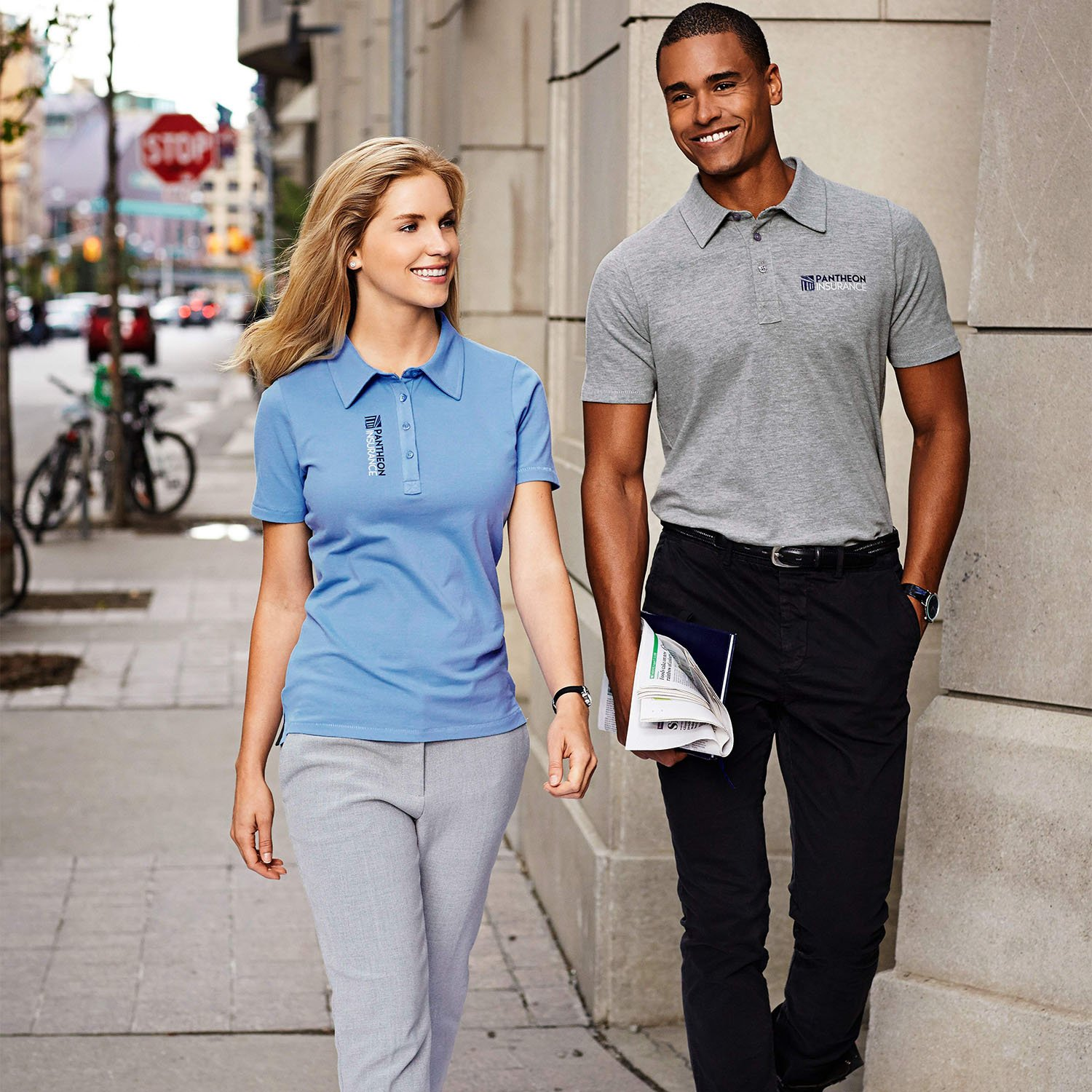 Elevate Markham polo shirt
