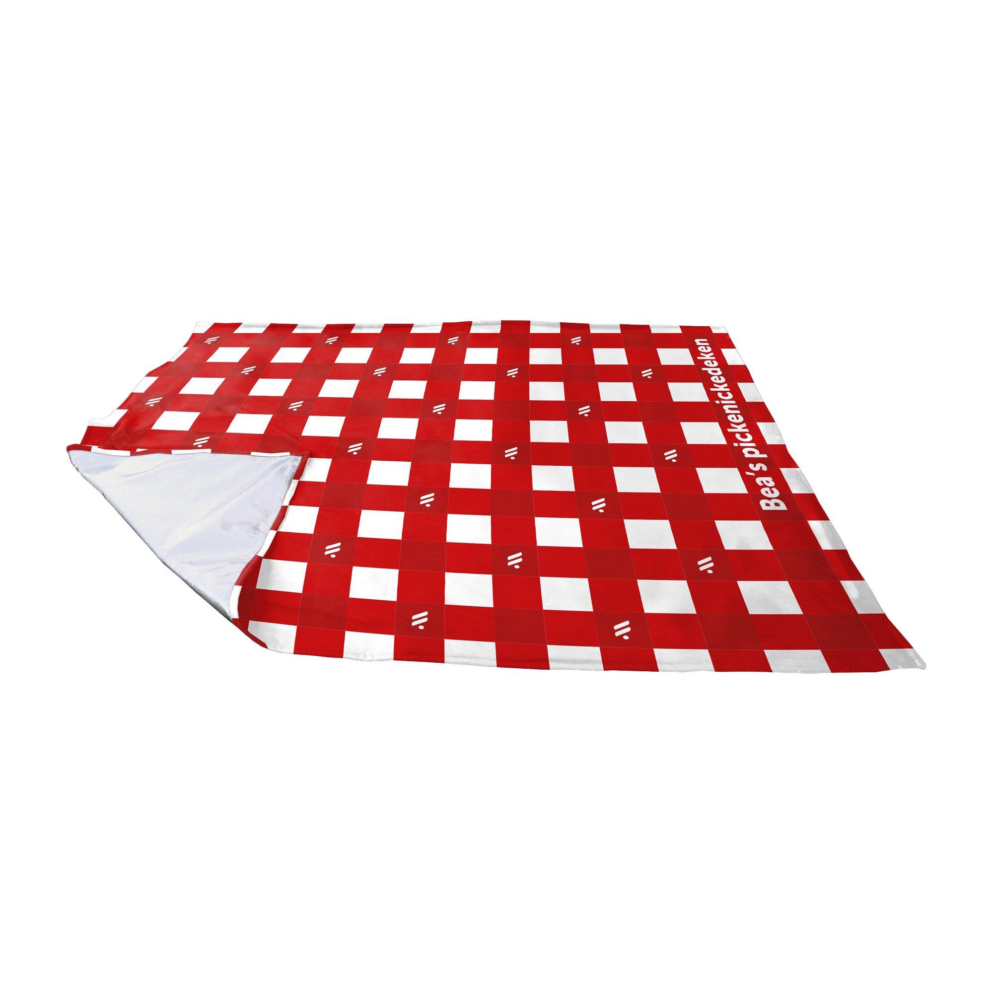 Leza medium picnic blanket, printed all-over