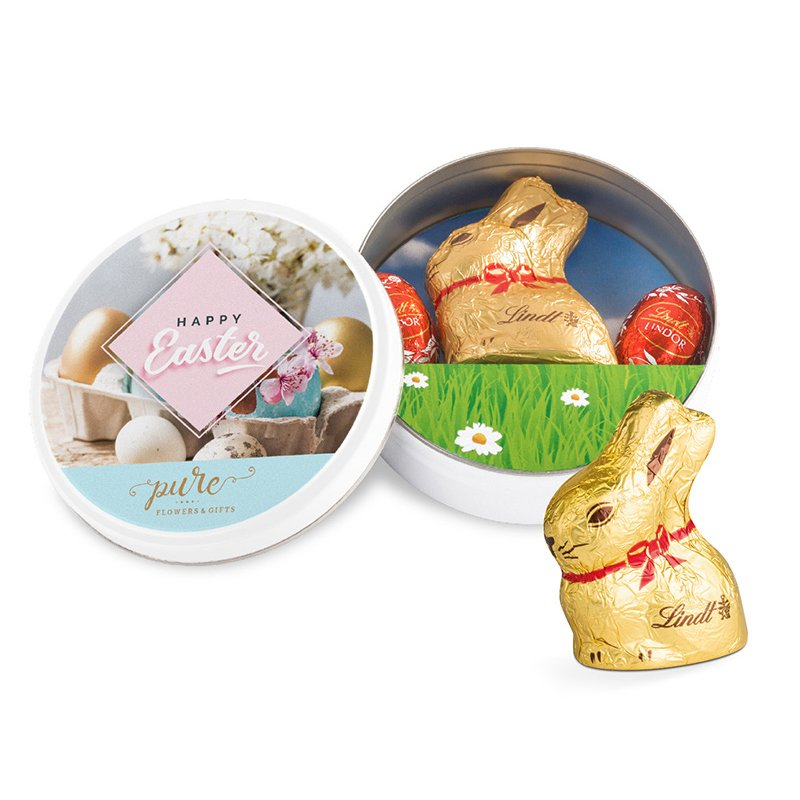 Lindt Easter tin