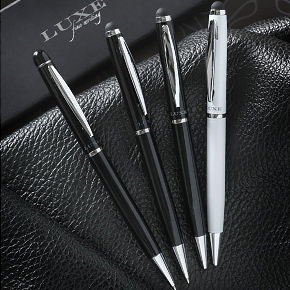 Luxe Stylus ballpoint pen, black ink