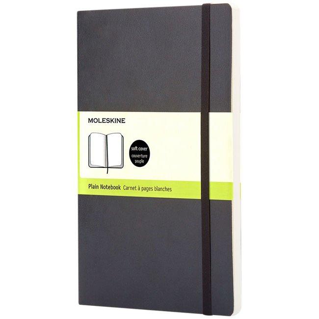 Moleskine Classic L soft cover notebook, plain