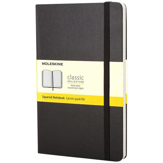 Moleskine Classic PK hard cover notebook, squared