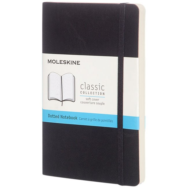 Moleskine Classic PK soft cover notebook, dotted