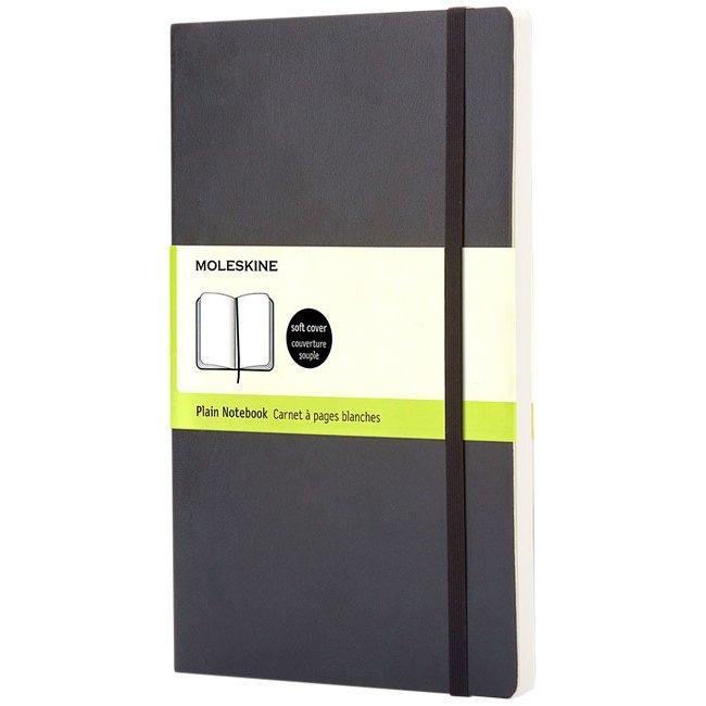 Moleskine Classic PK soft cover notebook, plain