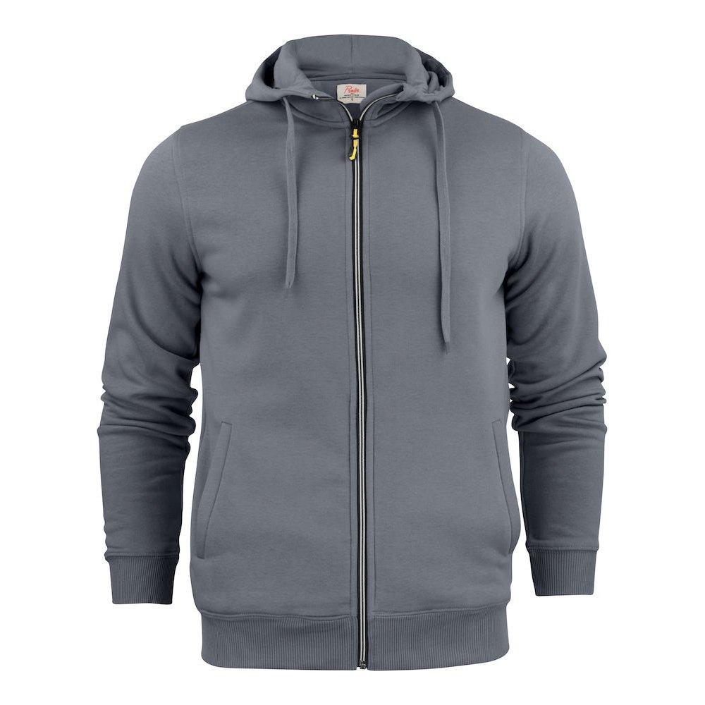 Printer Overhead hoodie with zipper