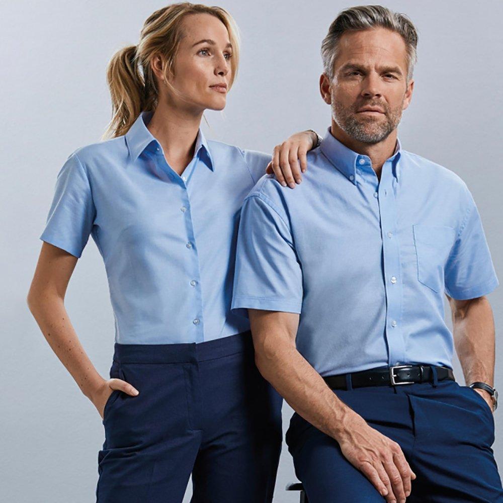Russell Oxford short sleeve shirt