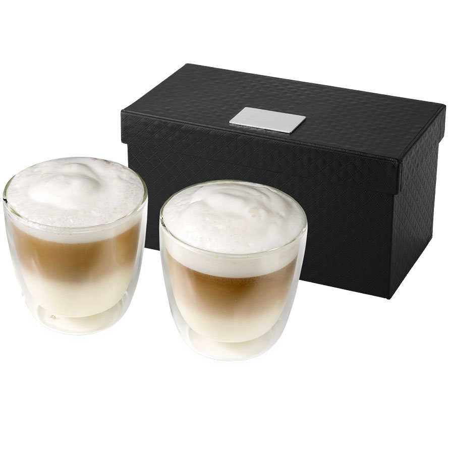 Seasons Boda 2-piece glass coffee cup set