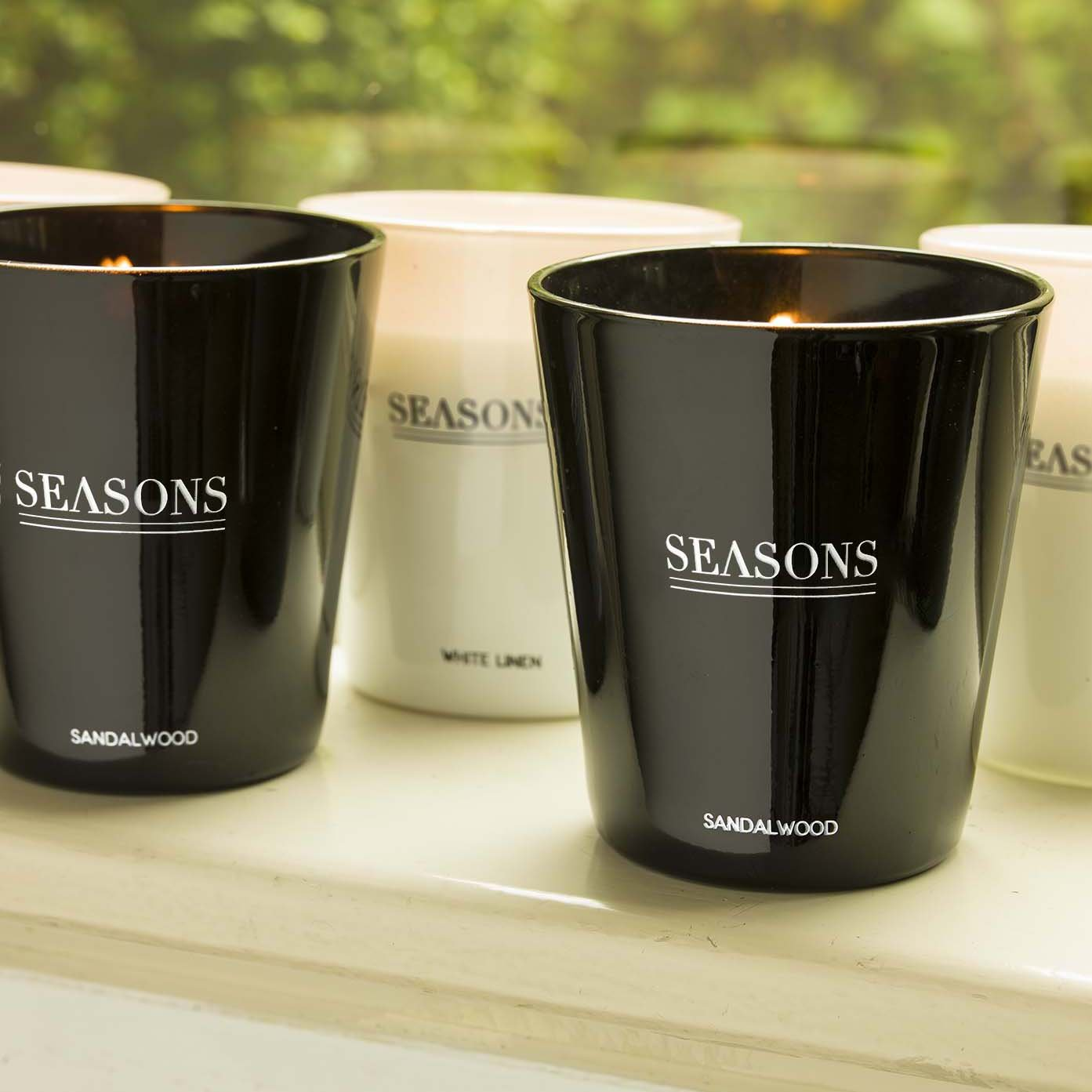 Seasons Lunar scented candle
