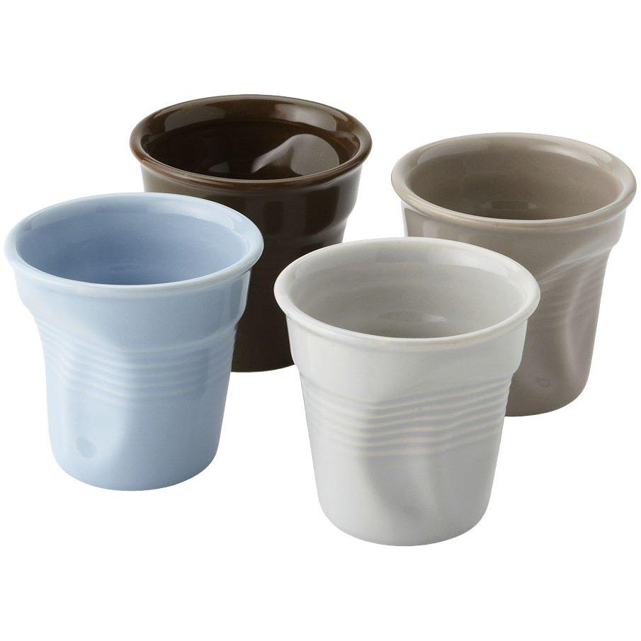 Seasons Milano 4-piece ceramic espresso cup set