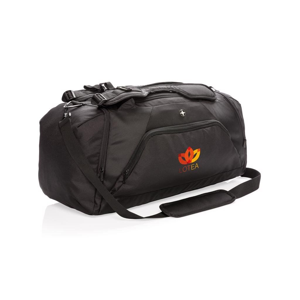 65de7972d55 Swiss Peak RFID sports duffel & backpack | Duffel bags | Carrying ...
