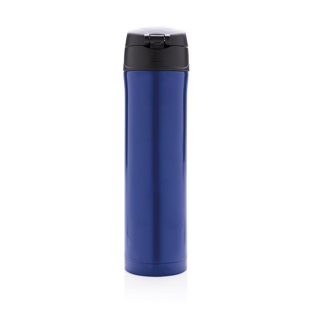 Easy lock vacuum thermos flask