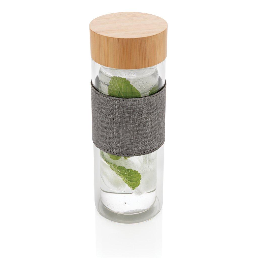 XD Collection Impact double wall borosilicate glass bottle