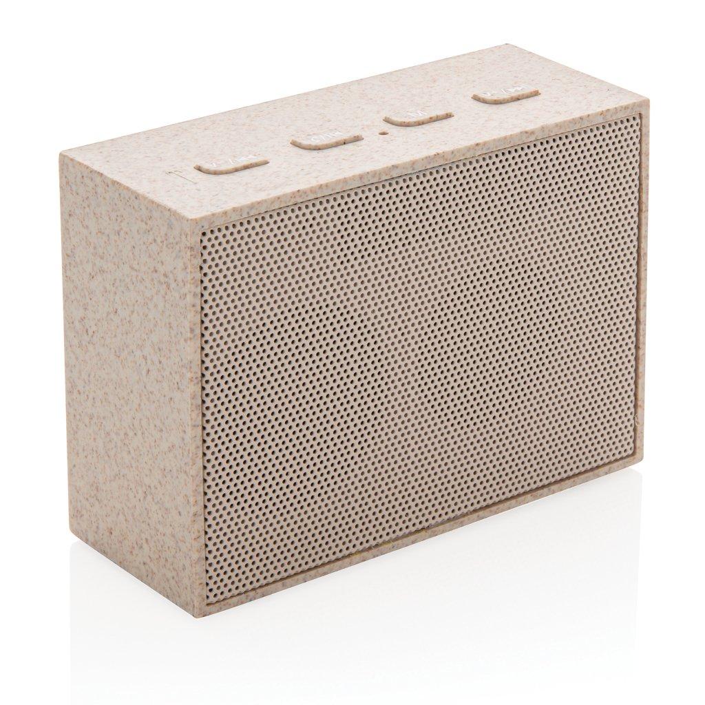 XD Collection Wheat straw 3W mini speaker