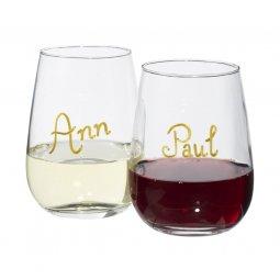 Avenue Barola wine glass writing set