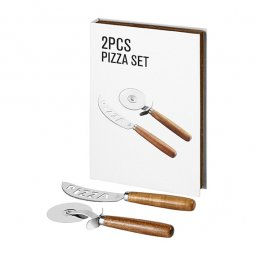 Avenue Nantes 2-delige pizza cadeau set