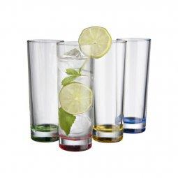Avenue Rocco 4-piece glass set