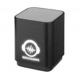 Bullet Beam light up logo bluetooth speaker