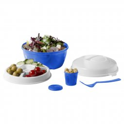 Bullet Ceasar salad bowl set