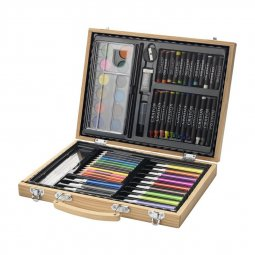 Bullet Rainbow 67-piece coloring set