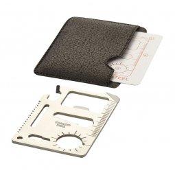 Bullet Saki 15-function pocket tool card