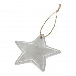 Bullet Seasonal star ornament
