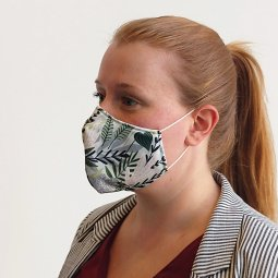 Care & More L3 mondmasker met print